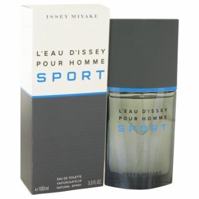 L'eau D'Issey Pour Homme Sport by Issey Miyake Eau De Toilette Spray 3.4 oz for Men
