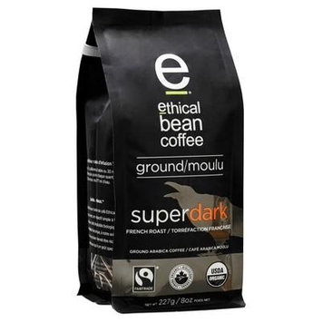 Ethical Bean Coffee Dark French Rst,8Oz (Pack Of 6)