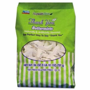 Hospitality Mints Thank You Buttermints Candies, 26 oz Bag - HMT000501