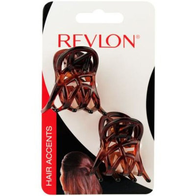 Revlon Small Tort Claw Hair Clips, 2 count