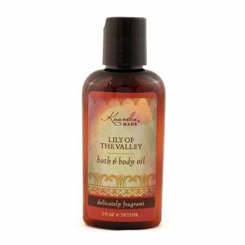 Kuumba Made Bath and Body Oil, Lily of the Valley, 6 Ounce Regular Size Bottle