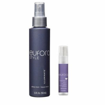 Eufora Shine Mist 5.1 Ounce & Leave in Repair Treatment 1 Ounce