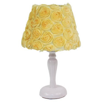 Nurture Generations Nurture Imagination Yellow Roses Lamp Base and Shade