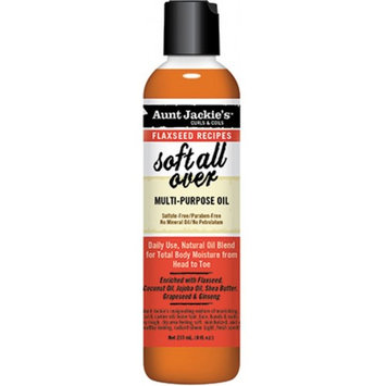 Aunt Jackie's Curls & Coils Soft All Over Multi Purpose Oil 8 oz