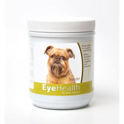 Healthy Breeds 840235145073 Brussels Griffon Eye Health Soft Chews - 75 Count