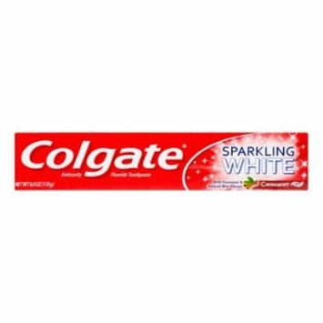 Colgate Sparkling White Toothpaste Gel CinnaMint (Pack of 10)
