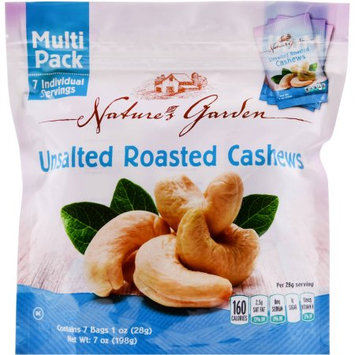 Cibo Vita Cashews Roasted/no Salt Multi Pack 7 Oz