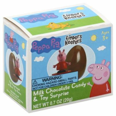 Galerie Peppa Pig Finders Keepers Milk Chocolate Candy & Toy Surprise, 0.7 oz