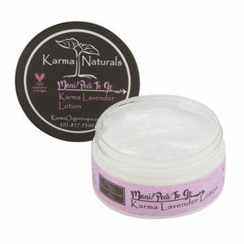 Karma Organic Lavender Body Lotion and Scrub -Stress Relief, Mosquito's Repellent, Moisturizer for Young and Dry Skin (Lotion)