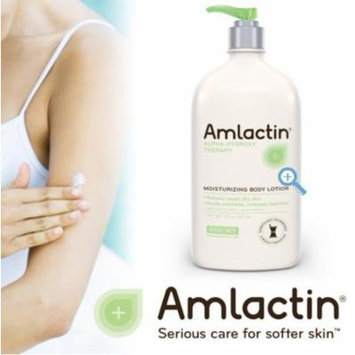 Amlactin Moisturizing Body Lotion, 20 Ounces Cream Moisture Therapy Lactic Acid