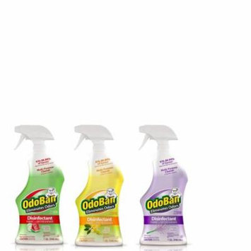 OdoBan Disinfectant Odor Eliminator Ready-to-Use 32oz Spray Bottle 3-Pack -- Citrus, Lavender and Cucumber Melon Scents