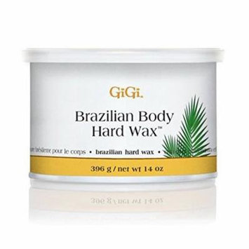 GiGi Brazilian Body Hard Wax, 14 Ounce, Bikini Waxing, Hair Removal, New