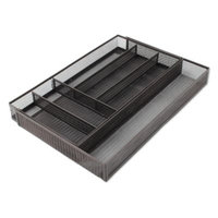 Mesh Expandable Kitchen Drawer Tray Organizer in Bronze