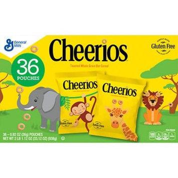 Cheerios Pouches, (36 pk./0.92 oz.) x2 AS