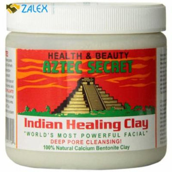 Aztec Secret Indian Healing Clay Deep Pore Cleansing Facial Mask Face 1 LB, .