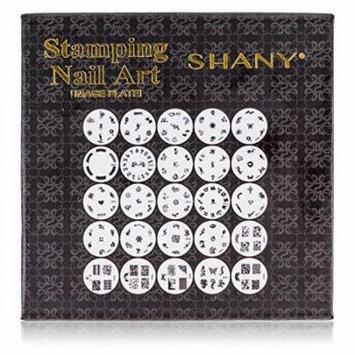 NEW SHANY 2012 Nail Art Polish Stamp Manicure Image Plates set of 25pcs