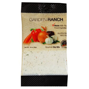 The Pantry Club Gluten Free Garden Ranch Dip Mix, 0.9 Oz. (Case of 12)