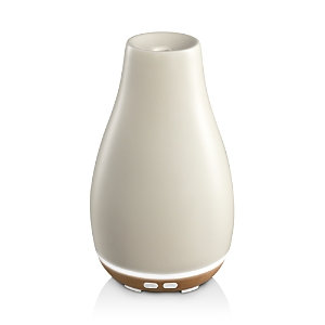 Homedics® - Ellia Blossom Ultrasonic Essential Oil Diffuser - Cream