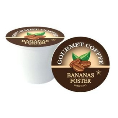 Smart Sips, Bananas Foster Flavored Coffee, 24 Count, Single Serve Cups Compatible With All Keurig K-cup Brewers