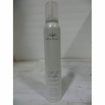 White Sands Curl Up in Silk Firm Mousse 7 oz
