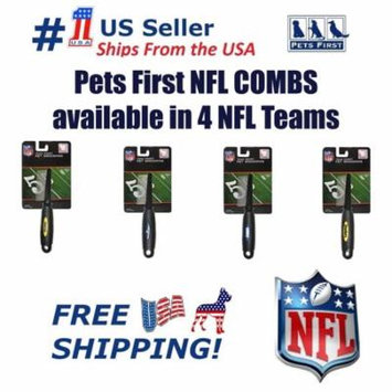Pets First NFL New York Giants Comb for Cats & Dogs - Licensed Football Pet Hair Comb, available in 4 NFL Teams