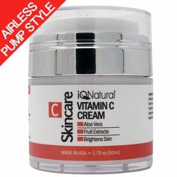 BEST Vitamin C Moisturizer Cream for Face, Neck & Décolleté. Face Moisturizer, Wrinkle cream, Scare Cream, Skin Tightening Cream, Age Spots. Anti-Aging Day & Night Cream.