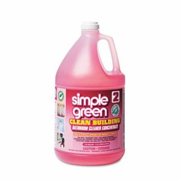 Simple Green 11101 Clean Building Bathroom Cleaner Concentrate, Unscented, 1gal