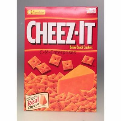 Cheez it Original Cheese Baked Snack Crackers 12.4 oz