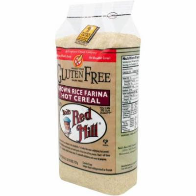 BOB'S RED MILL Organic Brown Rice Farina Cereal 26 Oz