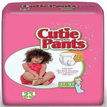 Cuties Refastenable Training Pants for Girls 2T-3T,up to 34 lbs. (26/PK)