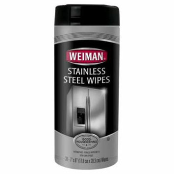 Weiman Stainless Steel Wipes, 30 ct Appliances Cars Resale items