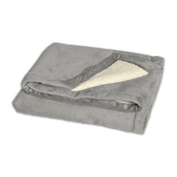 JJ Cole BundleMe Throw Blanket, Graphite Multi-Colored