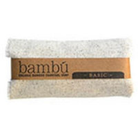 Bambu Soaps 231629 4.5 oz Unscented Organic Bambu Charcoal Soap Basic Body Bars