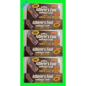 Natureplex 1% Clotrimazole Athlete's Foot Antifungal Creams - 3 Pack