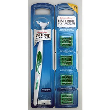 Listerine UltraClean Access Flosser WITH Refill Pack