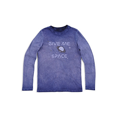Butter Boys' Mineral-Wash Give Me Space Tee - Little Kid, Big Kid