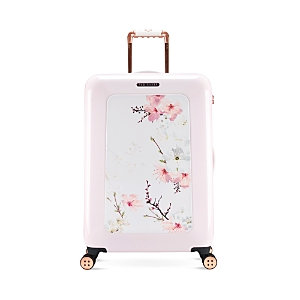 Ted Baker Oriental Blossom 4 Wheeled Medium Trolley Case - Oriental Blossom