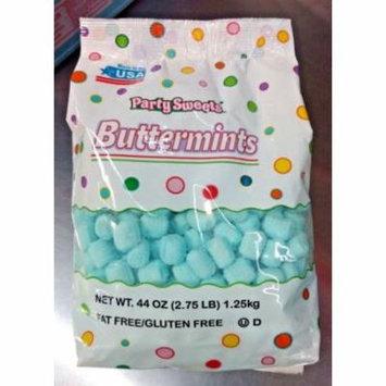 Blue Mints 2 lb Bag After Dinner Mints, Party Mints, Butter Mints
