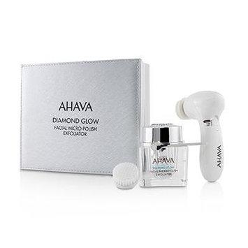 Diamond Glow Facial Micro-Polish Exfoliator (1x Micro-Exfoliating Cream 50ml 1x Cleansing Device 1x Brush Head) -