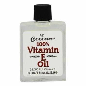 100% Vitamin E Oil 28000 IU - 1 oz. by Cococare (pack of 4)