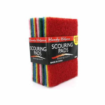 Multi-colored scouring pads - Pack of 80
