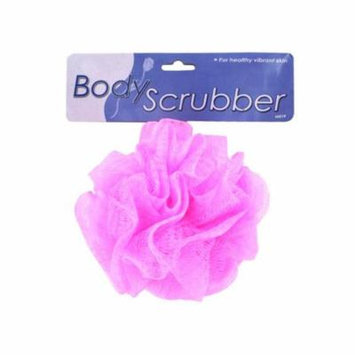 Body scrubber -assorted colors - Pack of 72