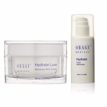 Obagi Hydrate Facial Moisturizer 1.7 oz & Hydrate Luxe 1.7 oz