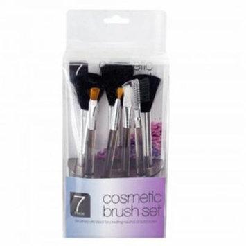 Kole Imports HX197-32 Cosmetic Brush Set in Standing Organizer, 32 Piece