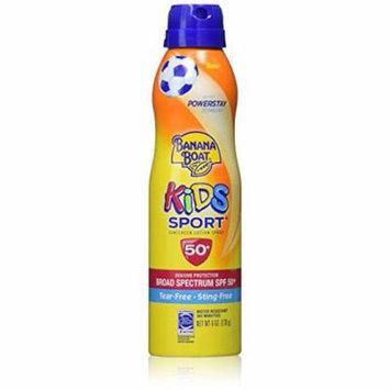 Banana Boat Kids Sport Tear-Free Sunscreen (Pack of 8)