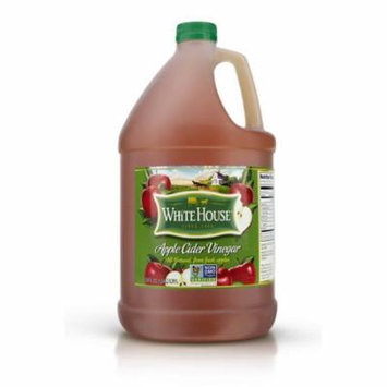(Price/Pack)White House 029-1884 Apple Cider Vinegar 50 Grain 4-1 Gallon