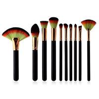 Fineser(TM) Professional Makeup Brushes Kit 10pcs - Cosmetic Makeup Brushes Foundation Eyebrow Eyeliner Blush Cosmetic Brushes Beauty Tools Brush