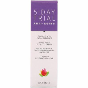 Reviva Labs 5-Day Trial Kit Anti-Aging 4 Piece Kit 0 25 oz 7 g Each