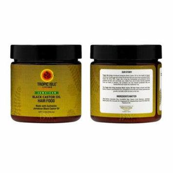 Tropic Isle Living Black Castor Oil Hair Food 4 oz