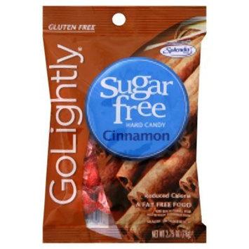 Go Lightly Sugar Free Hard Candy Cinnamon 2.75 Oz. Bag Kosher (Pack of 12) - Pack Of 12